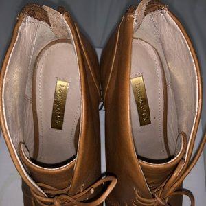 Louise et Cie Shoes - Louise et Cie Vernonia Peep Toe Bootie